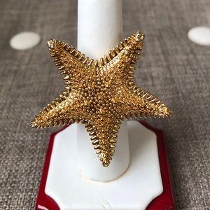 ⭐️ ♠️ kate spade starfish ring